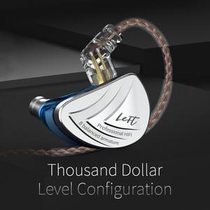 Image 2 - KZ AS16 16BA Units Balanced Armature Hifi Bass In Ear Monitorหูฟังหูฟังเสียงรบกวนหูฟังสำหรับโทรศัพท์