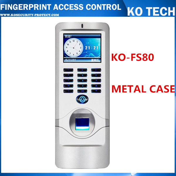METAL IP65 Biometric Fingerprint Access Control Machine Digital Electric RFID Reader Scanner Sensor Code System For Door Lock
