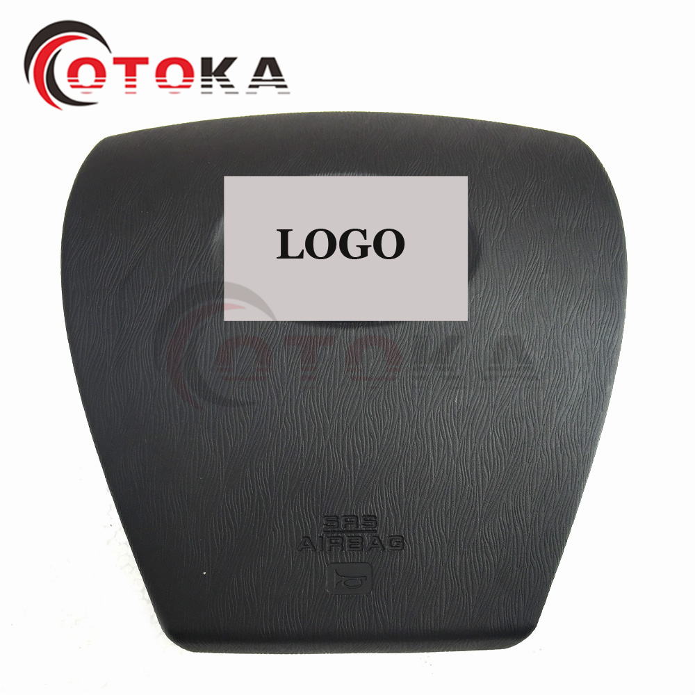 NEW SRS Driver Wheel Steering Airbag Cover For Toyota Prius With LOGO