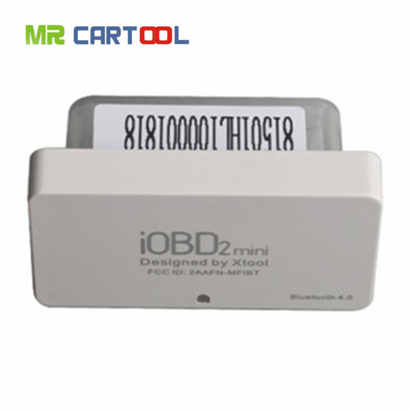 Xtool iobd2 Mini OBD2 EOBD iOS scanner and Android Mini iobd2 Bluetooth 4 free delivery