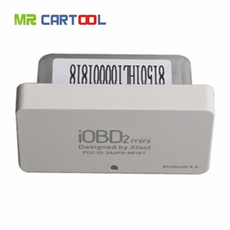Цена за Xtool iobd2 Мини OBD2 EOBD сканер iOS и Android Мини iobd2 Bluetooth 4 бесплатная доставка