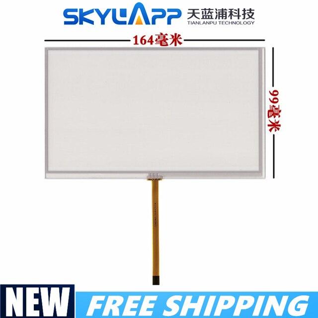 Écran tactile 7inch at070tn92 at070tn94 hsd070idw1 d00 e11 panneau tactile décriture écran externe 164mm * 99mm livraison gratuite
