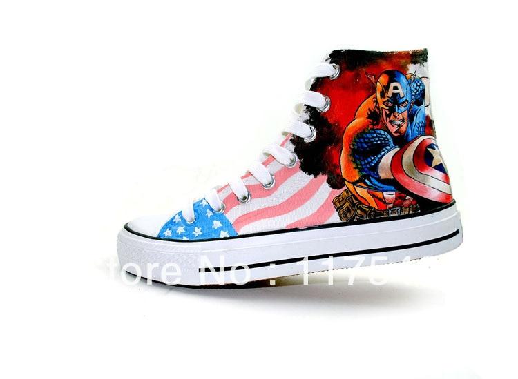 captain america high tops