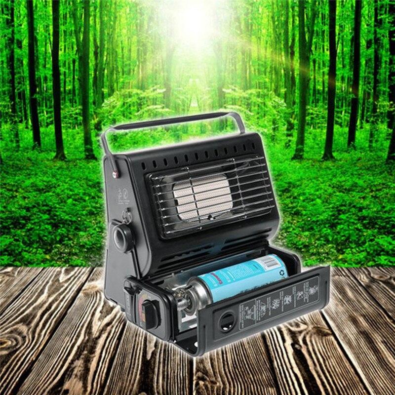 Chauffage extérieur brûleur à gaz chauffage pour voyager Camping randonnée pique-nique équipement double usage Portable poêle chauffage fer - 2