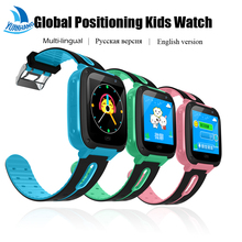 Touch Screen Smart GPRS LBS Real-time Tracker Location SOS Call Remote Camera Monitor Flashlight Watch Wristwatch for Kid Child