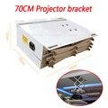 1 шт 70 см кронштейн для проектирования изображения моторизованные электрический лифт ножницы потолочный кронштейн для проектора подъемник...