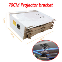 1pc 70CM Projector bracket motorized electric lift scissors projector ceiling mount projector lift with remote 110v/220v