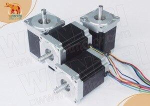 Image 2 - ¡CNC barato! Wantai Motor paso a paso Nema 34 de 4 ejes, WT86STH118 6004A 1232ozin + controlador DQ860MA 80V 7.8A 256, Micro fresadora CNC, corte de molienda