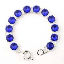 12 Silver Round Bracelets