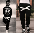 Free Shipping tops Quality brand Hiphop 4xl 3xl 5XL Men Women Hip Hop Pants trousers Boys Girls Hip-hop Dance Cross-Sweatpants O