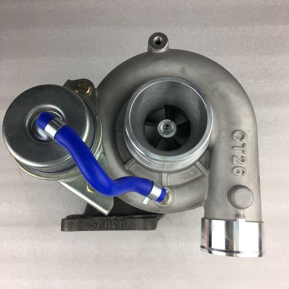 Turbocompresor xyuchen para Toyota CT26 turbocompresor 17201-17030 17201-17010