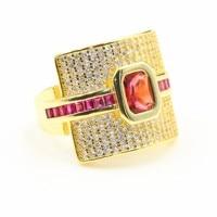 Новое поступление, хит продаж, женские модные ювелирные изделия из стерлингового серебра 925 пробы и золота, женское свадебное кольцо принце