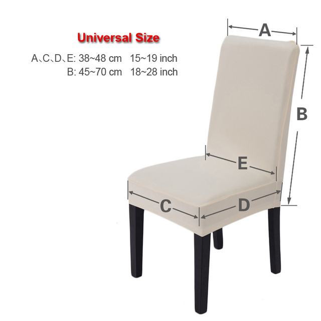 Printed Stretchable Chair Cover – Dining / Banquet Chair