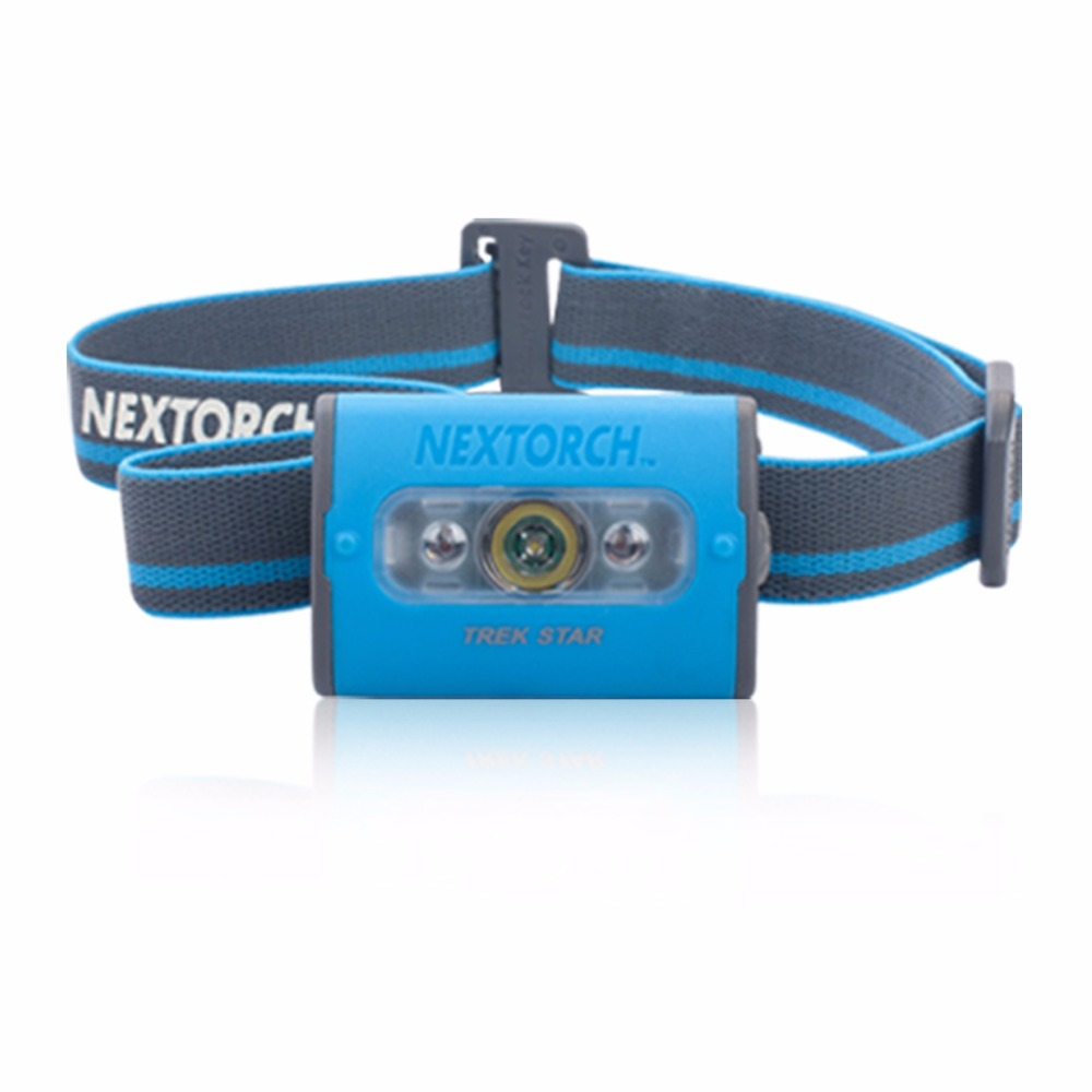 ФОТО NEXTORCH 140 Lumen TREK STAR ANSI NEMA Ultra Bright Multi-Mode High Power White Red LED Headlamp