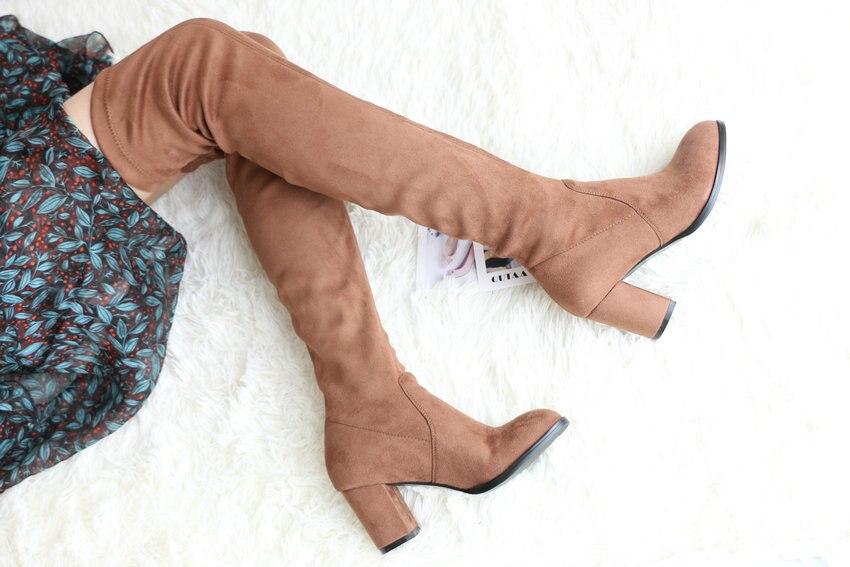 Women Over The Knee High Heel Winter Sexy Boots 58
