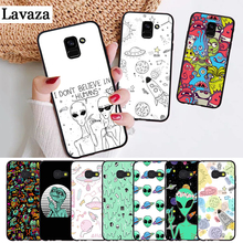 Lavaza Space Planet Stars Spaceship Silicone Case for Samsung A3 A5 A6 Plus A7 A8 A9 A10 A30 A40 A50 A70 J6 A10S A30S A50S