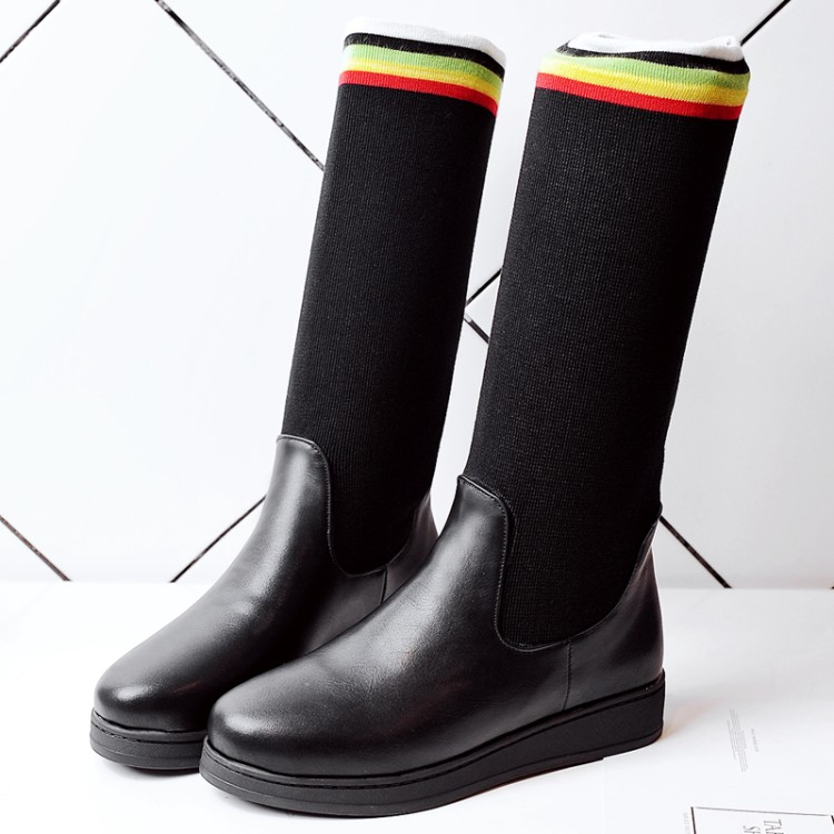 2017 New Boots Botas Mujer Shoes Women Fashion Motocicleta Mulheres Martin Outono Inverno Botas De Couro Boots Femininas X79-2
