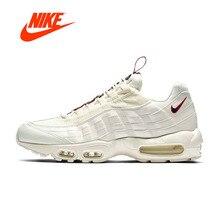 Оригинальный Новое поступление Аутентичные Nike Air Max 95 для мужчин's кроссовки Спорт Открытый Прогулки Бег Спортивная обувь удобные AJ1844-101