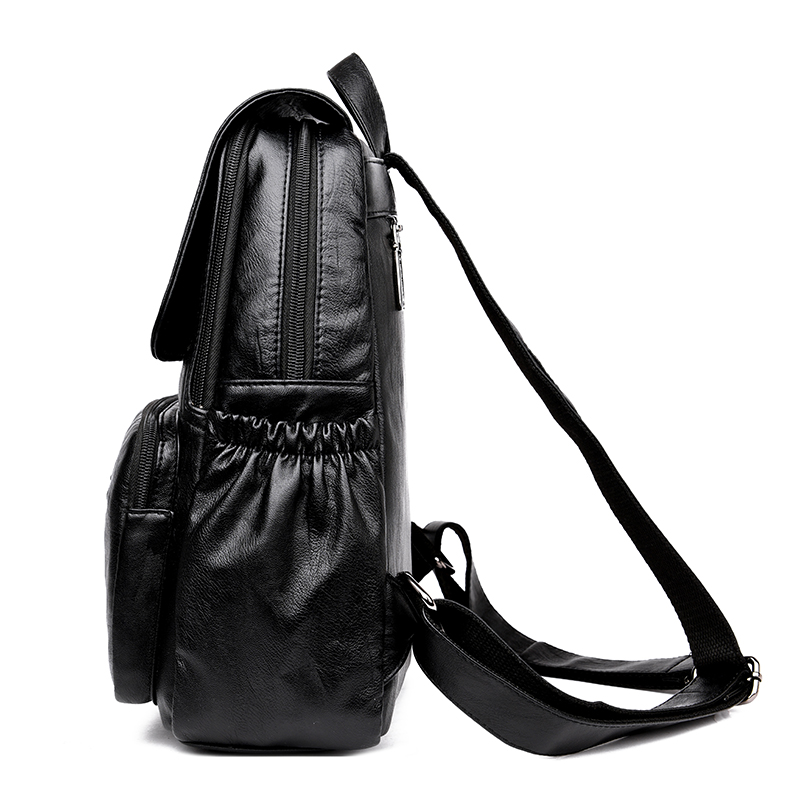 2019 Vintage Leather Backpacks Female Travel Shoulder Bag Mochilas Women Backpack Large Capacity Rucksacks For Girls 2019 Vintage Leather Backpacks Female Travel Shoulder Bag Mochilas Women Backpack Large Capacity Rucksacks For Girls Dayback New