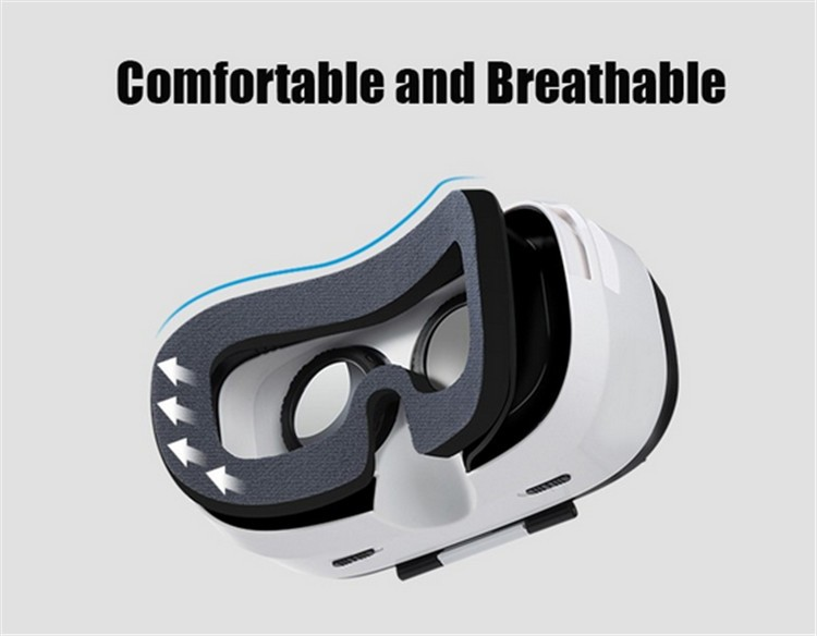 FIIT VR 2S Plastic Version Virtual Reality 3D Glasses Box Google Cardboard Oculos Rift Gear VR for 4.0-6.5 Smart Phone (10)