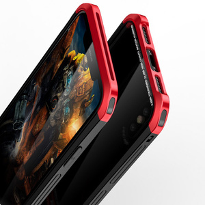 Image 5 - Für iPhone X Fall Metall Dünne Abdeckung Gehärtetem Glas Aluminium Kunststoff Seite Hybrid Abdeckungen für iPhoneX 10 Klar Fall Original luxus