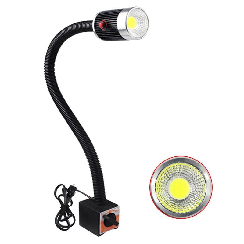 5w led Machine Tool light Magnetic base 24v 220v CNC Lathe garage sewing machine lights workshop