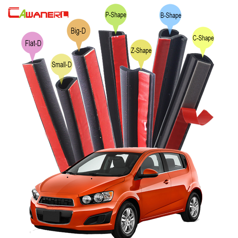 Cawanerl Whole Car Rubber Sealing Strip Kit Weatherstrip Seal Edge Trim For Chevrolet Beretta Cavalier Rezzo Sonic Aveo high quality excavator seal kit for komatsu pc200 5 bucket cylinder repair seal kit 707 99 45220