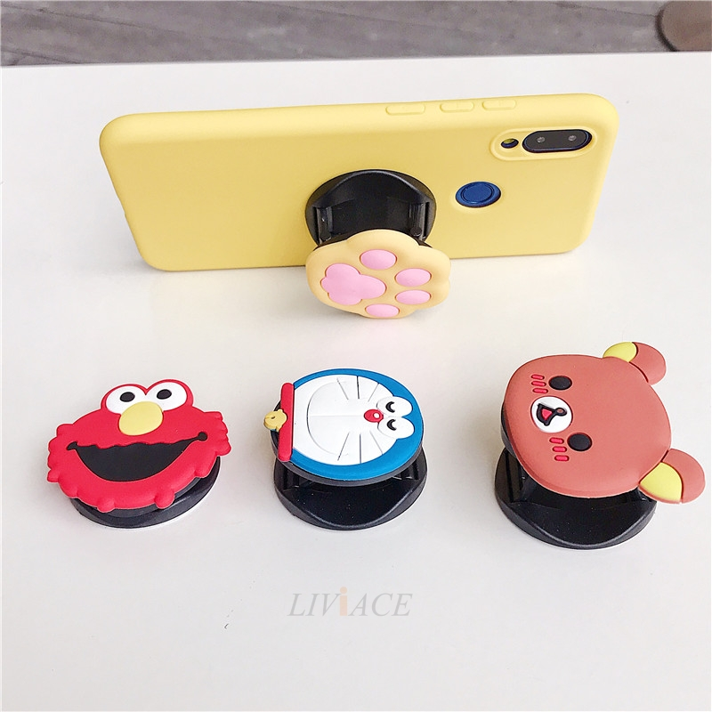 3D Cartoon Silicone Phone Standing Case for Xiaomi And Redmi Phones 12