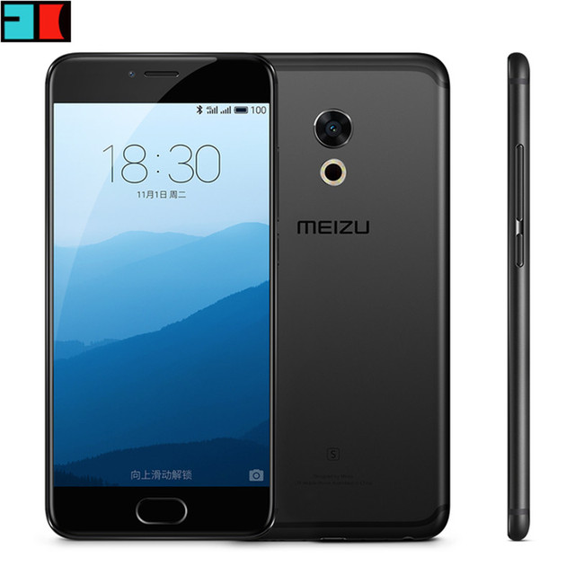 "Original MEIZU Pro6s Pro 6s 4G LTE Cell Phone Helio X25 Deca Core 2.0GHz 5.2"" 1920X1080 4GB RAM 64GB ROM Dual Sim 3D Press"