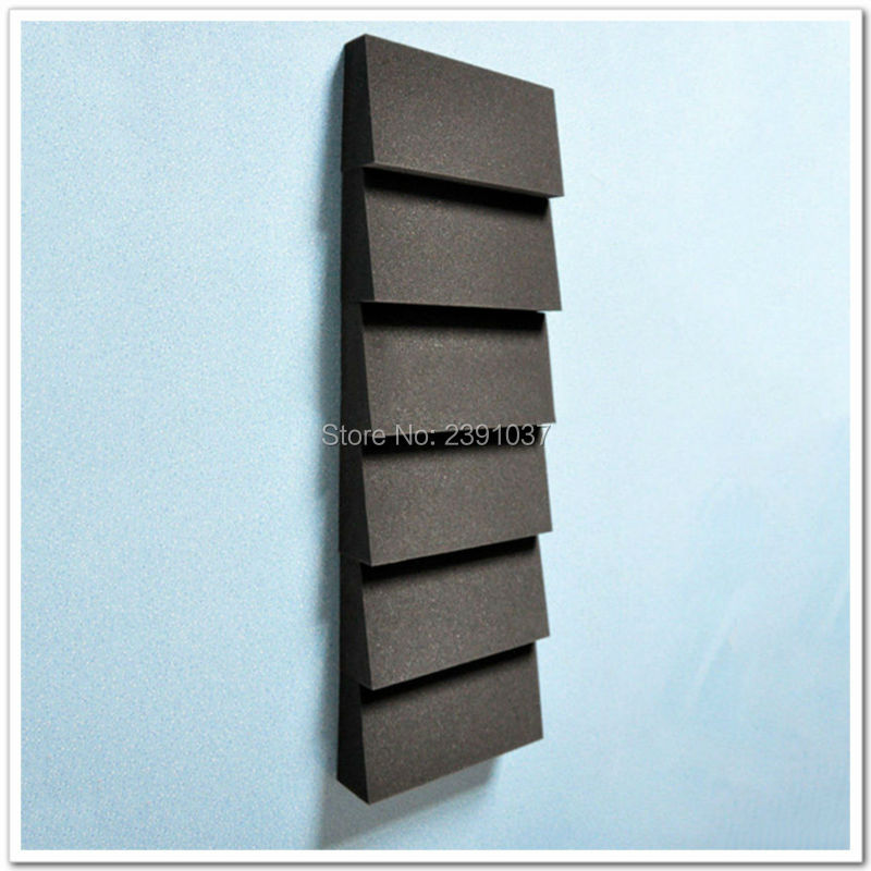 2016 brand new high quality 16pcs acoustic foamtrapezoid for New wall tiles 2016