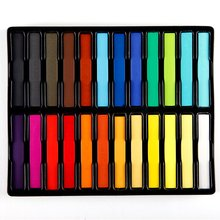 24 Hair Care 24 Colors Hair Chalk Popular Temporary Hair Color Beautiful Convenient Super Hair Dye Crayons