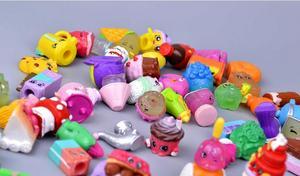 Image 5 - Hotsale מיניאטורי קניות פירות בובות למשפחה ילדים חג המולד מתנת ילד משחק צעצועי מעורב עונות 100 יח\חבילה