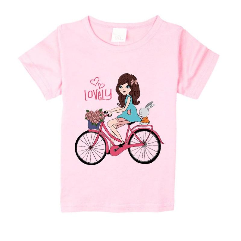 NW021-003 Nueva camiseta de verano para niñas, niños amantes niñas - Ropa de ninos