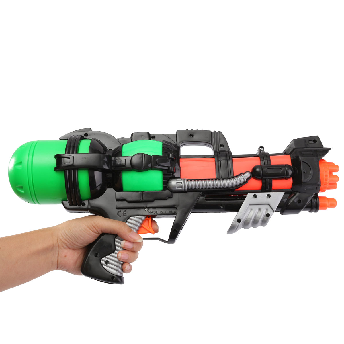 New Arrival Big 44CM High Pressure Large Capacity Water Gun Pistols Toy Water Guns Large Children Guns Kids Outdoor Games