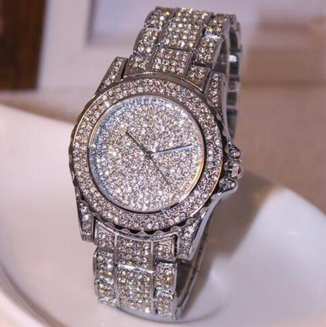 mance watches women bling bling fashion luxury watch rhinestone ceramic crystal quartz watches. Black Bedroom Furniture Sets. Home Design Ideas
