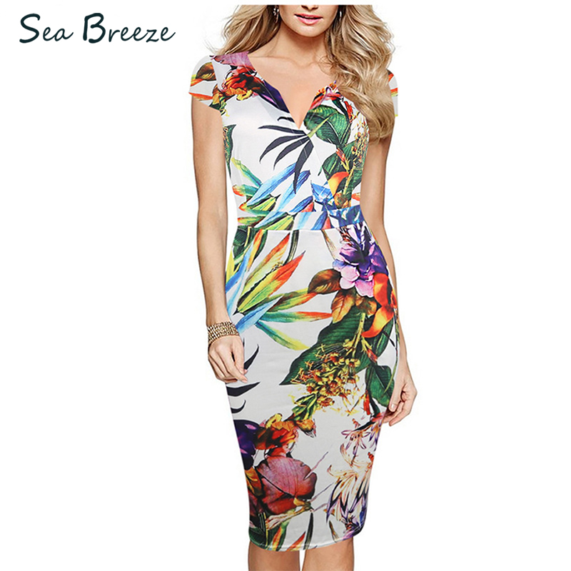 Sea Breeze Brand Summer New Fashion Women V Neck Short