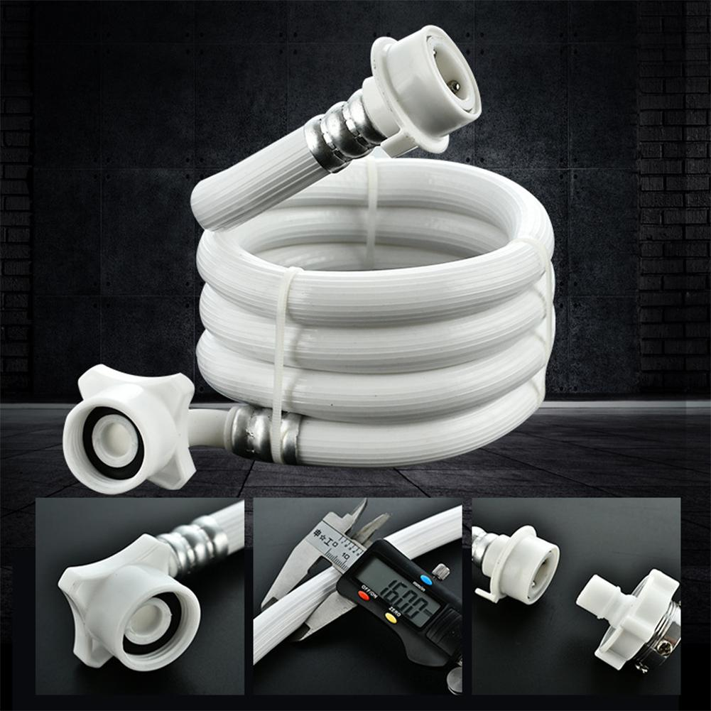 1M Water Inlet Pipe for Automatic Washing Machine Anti-explosion Extension Tube Hose Coupler Accessories b1jx self washing machine pvc inlet pipe white silvery grey 2 8m