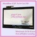 Original nuevo ltn133yl05-l02 3200*1800 pantalla lcd con panel táctil para lenovo yoga4 pro lcd asamblea yoga900