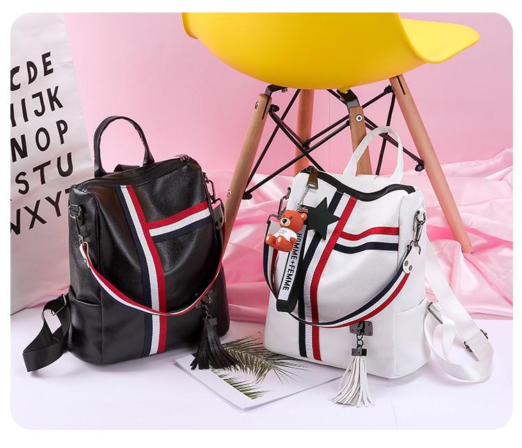 2018 New Retro Fashion Ladies Backpack-0015