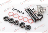 BLACK Valve Cover Washers For D Series D16 D16Y Honda Civic 5 PACK VALC 01 Black