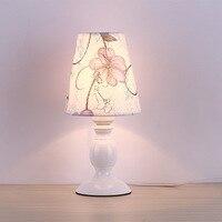 Nordic LED bedroom bedside study eye table lamp modern minimalist fabric small table lamp garden lamp lw4281123