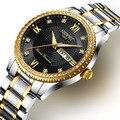 Мужские наручные часы NIBOSI, брендовые Роскошные водонепроницаемые часы со стальным хронографом, роскошные мужские наручные часы