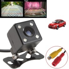 Rear View Camera Universal IP67 Waterproof LED Car Back Reverse Camera RCA Night Vision Parking Assistance Cameras