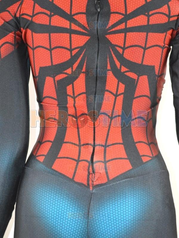 Spider-Girl զգեստները Parker Morph կոստյում Տպել - Կարնավալային հագուստները - Լուսանկար 6