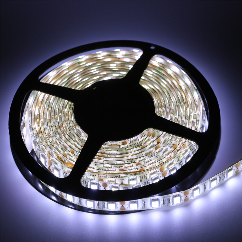 5m super bright 5050 smd rgb led strip light 60leds m 300leds dc 12v led tape flexible light. Black Bedroom Furniture Sets. Home Design Ideas