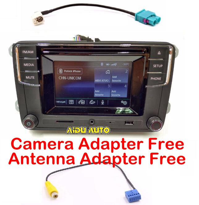 Used Panel Scratches CD Player Bluetooth Radio New High Version MIB RCD330 RCD330G For Golf 5