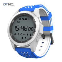 DTNO.1 Bluetooth Smart Watch Smartwatch F3 Touch Screen Smartwatch for IOS Android Phones, IP68 Waterproof Sports Smart Watches