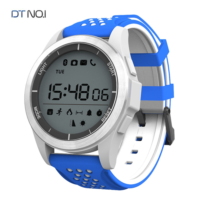 DTNO.1 Bluetooth Smart Watch Smartwatch F3 Touch Screen Smartwatch for IOS Android Phones, IP68 Waterproof Sports Smart Watches image