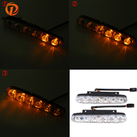POSSBAY Daytime Running Lights Car LED Lights 12 15V Waterproof DRL Car Headlight Power Auto LED External Lamp