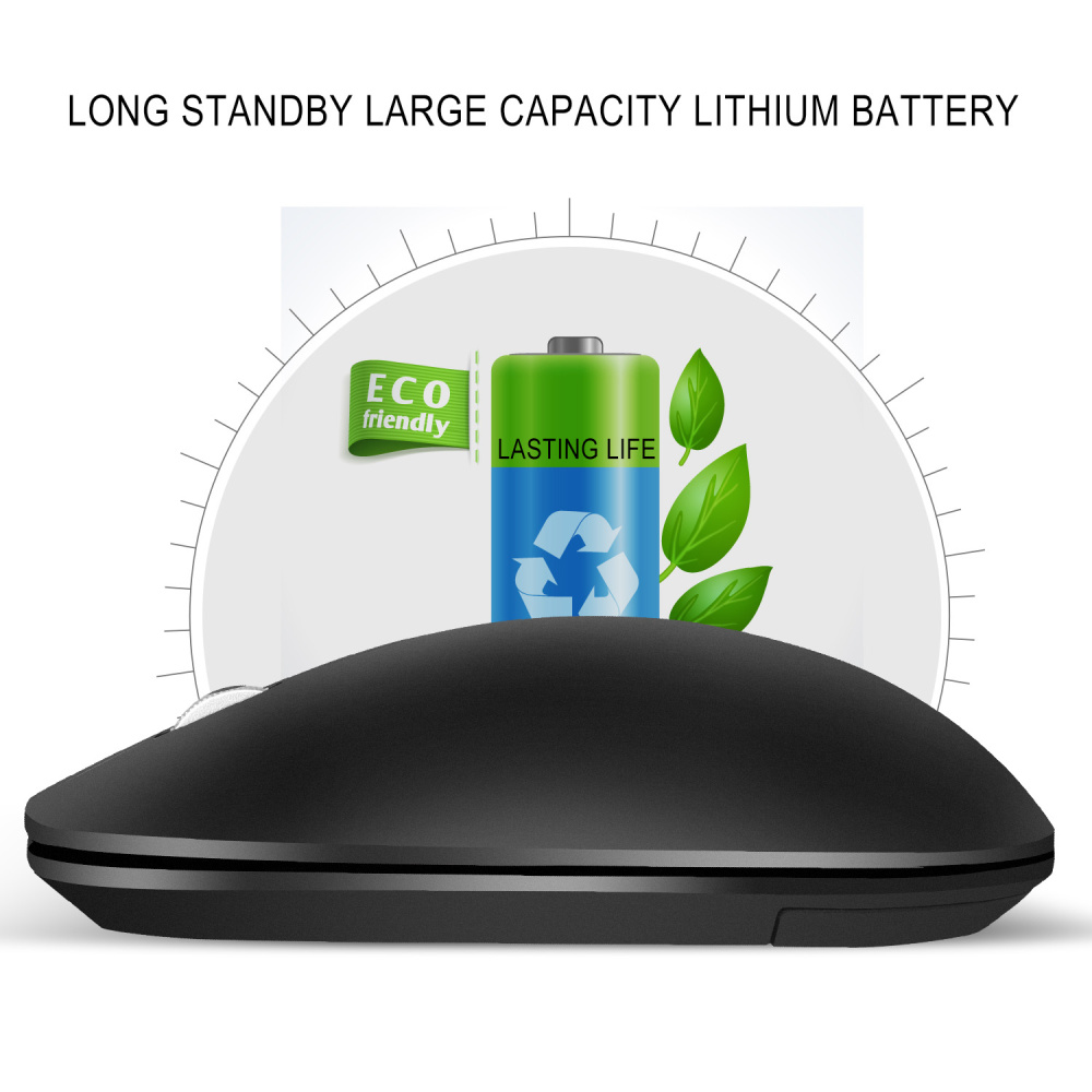 Image 4 - ZERODATE  2.4G Wireless Mouse 3 Keys  Ergonomic 1600DPI  Gaming Mouse USB Optical Mice for PC Laptop Computer  For Office Home-in Mice from Computer & Office
